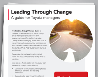 Toyota - Transformation & Culture Change image box 2