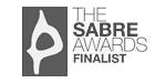 ROI Accolades - The Sabre Awards logo