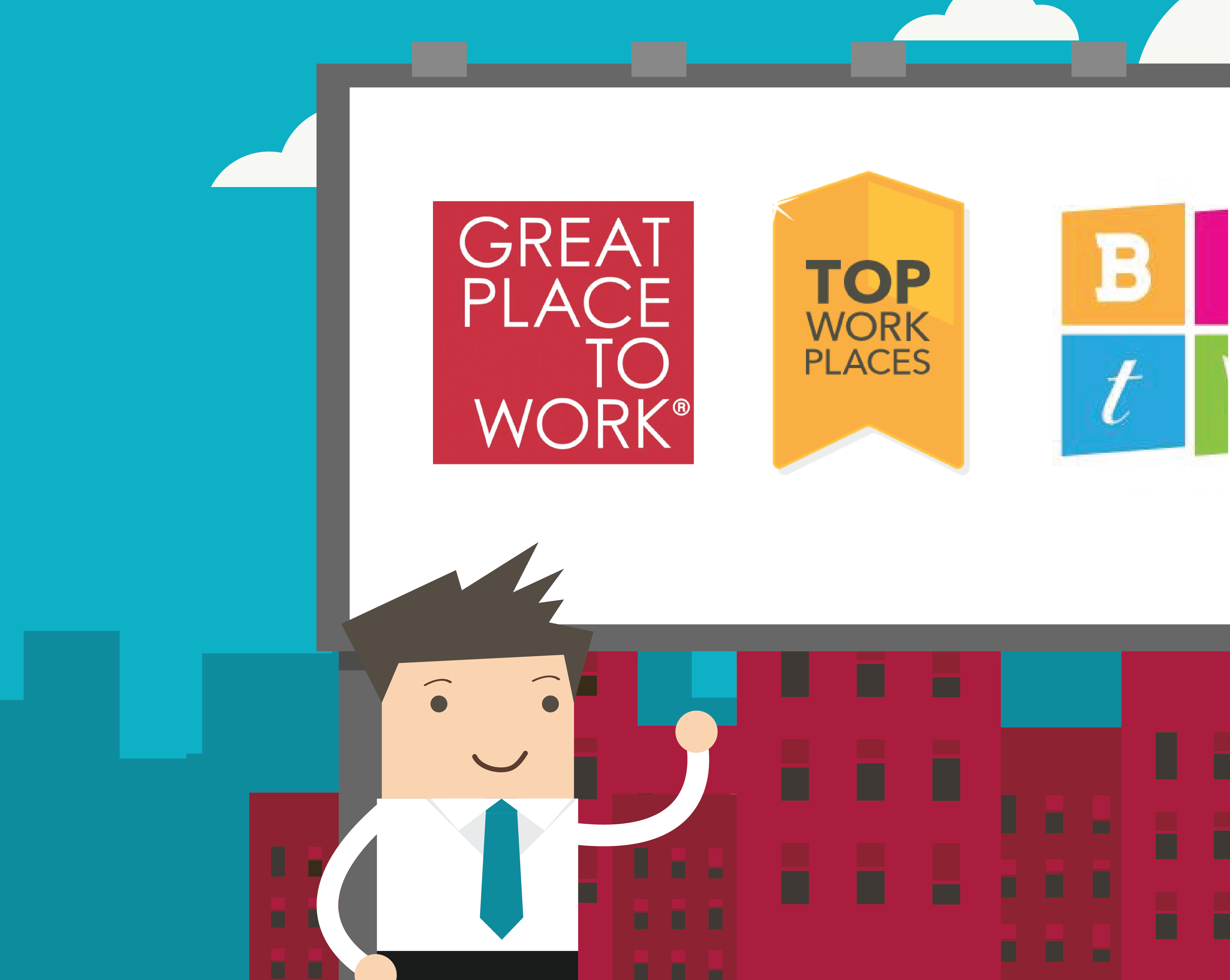 What's the worth of being recognized as a great workplace?