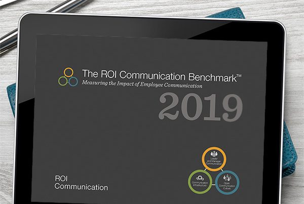 Participate 2019 Benchmark survey