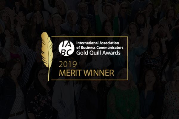 ROI and PepsiCo R&D win IABC Gold Quill Award of Merit for Internal Communications